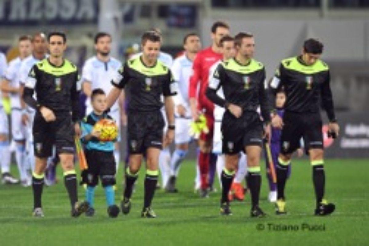 Calcio: gli arbitri del week end: Gavillucci per Fiorentina Verona