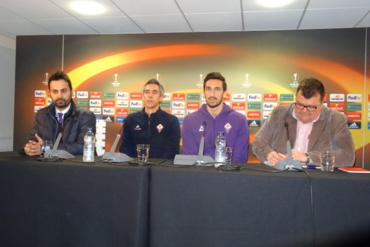 """La conferenza stampa di Paulo Sousa al White Hart Lane; a seguire la """"rifinitura viola"""""""
