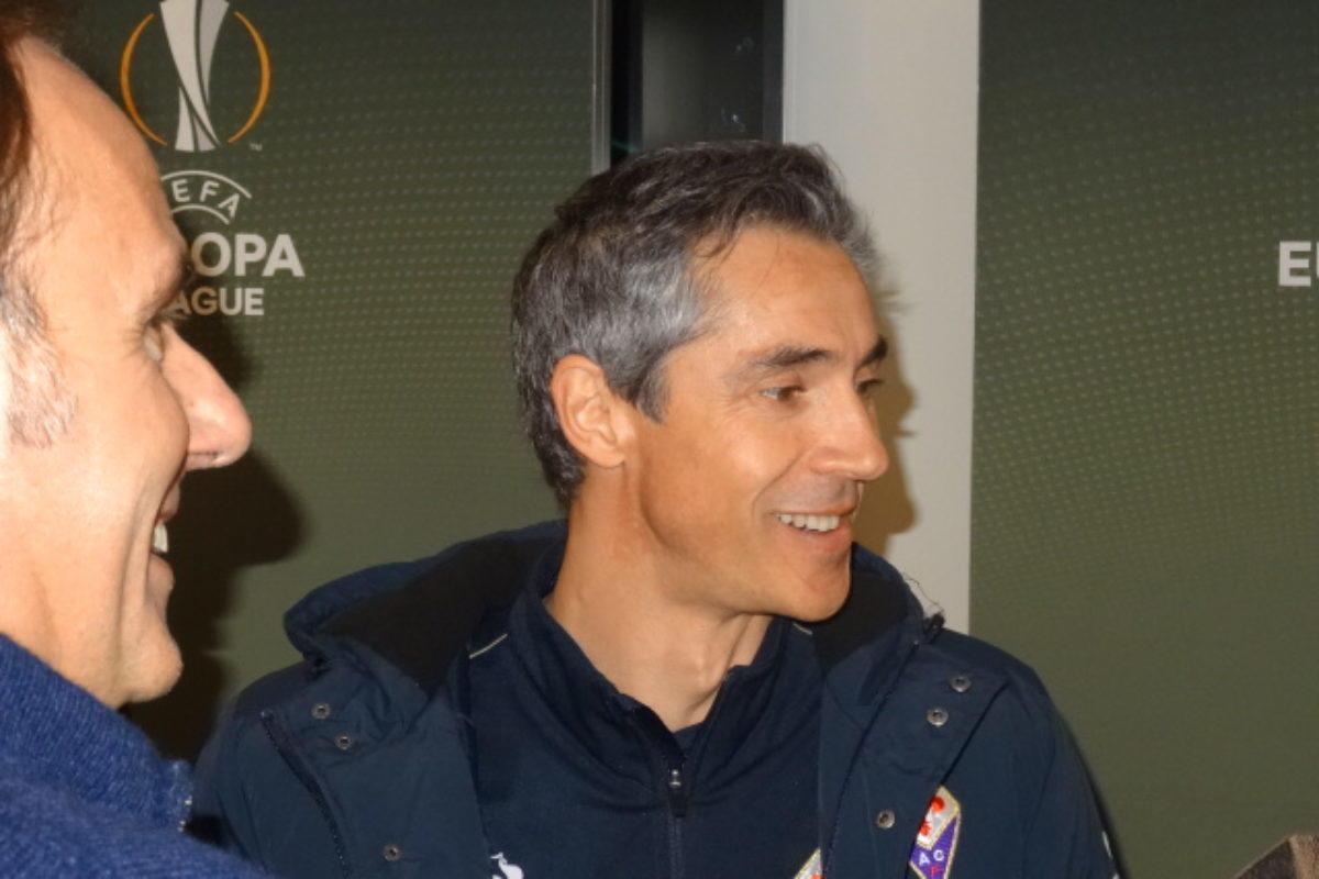 """Calcio: la conferenza stampa di Paulo Sousa e Federico Bernardeschi """"pre"""" Tottenham"""