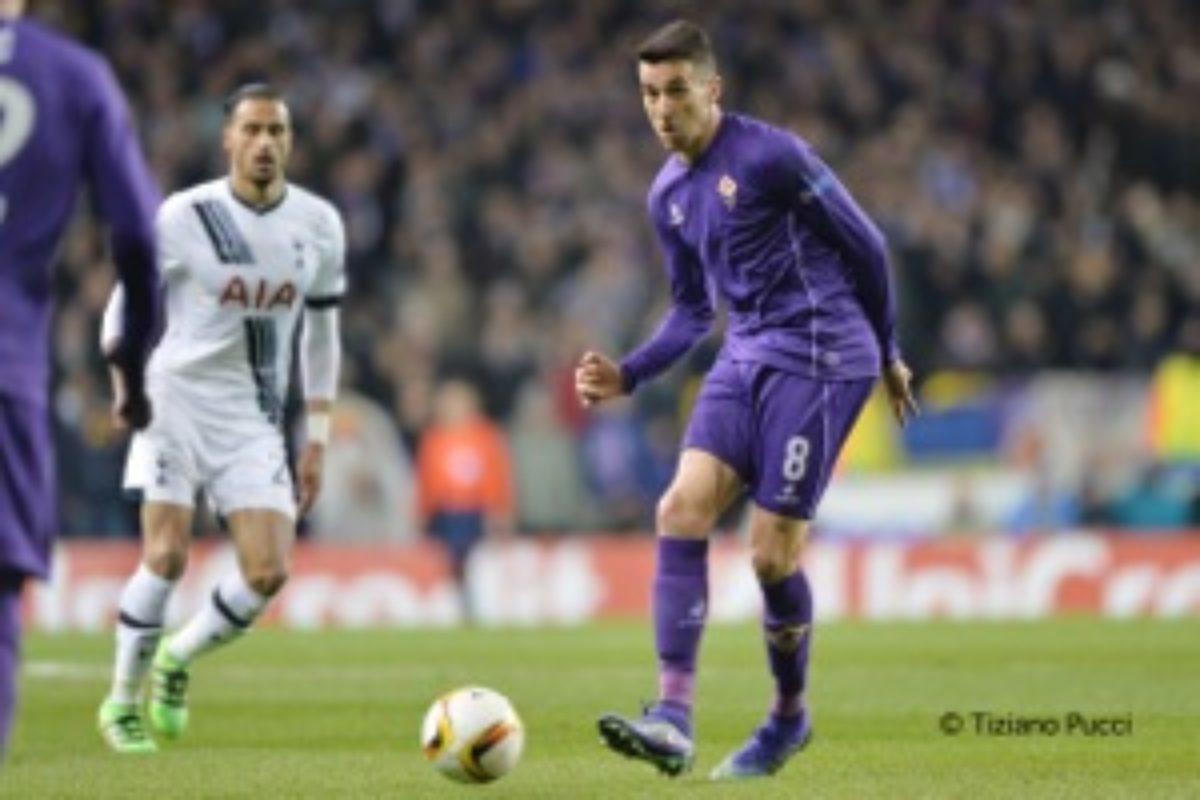 """Calcio:casa Fiorentina: ha parlato Matias Vecino:"""" A Roma per vincere"""""""