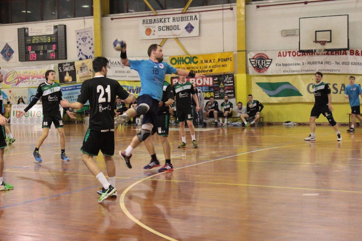 Pallamano: Tavarnelle ChiantiBanca battuto a Rubiera 27-25