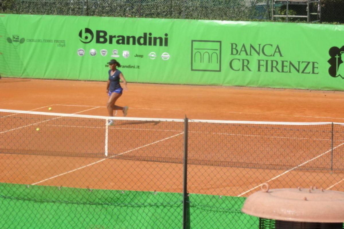 """Tennis: 41°""""Città di Firenze"""": partito il tabellone principale ..subito una sorpresa al femminile"""