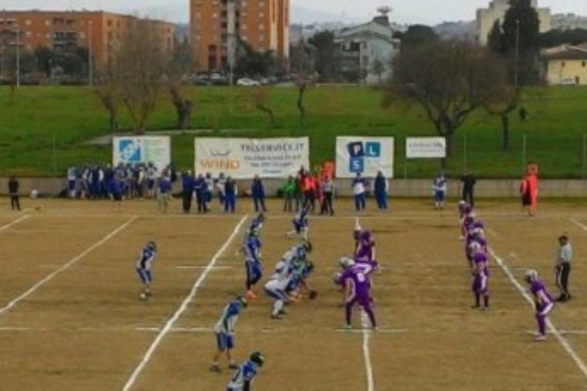 Football Americano: Domani Guelfi-Aquile Ferrara