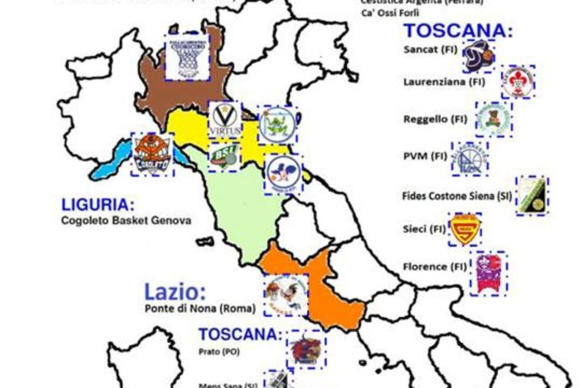 Basket Giovanile: Oggi e Domani a Firenze il 9° Torneo Tommasino Bacciotti