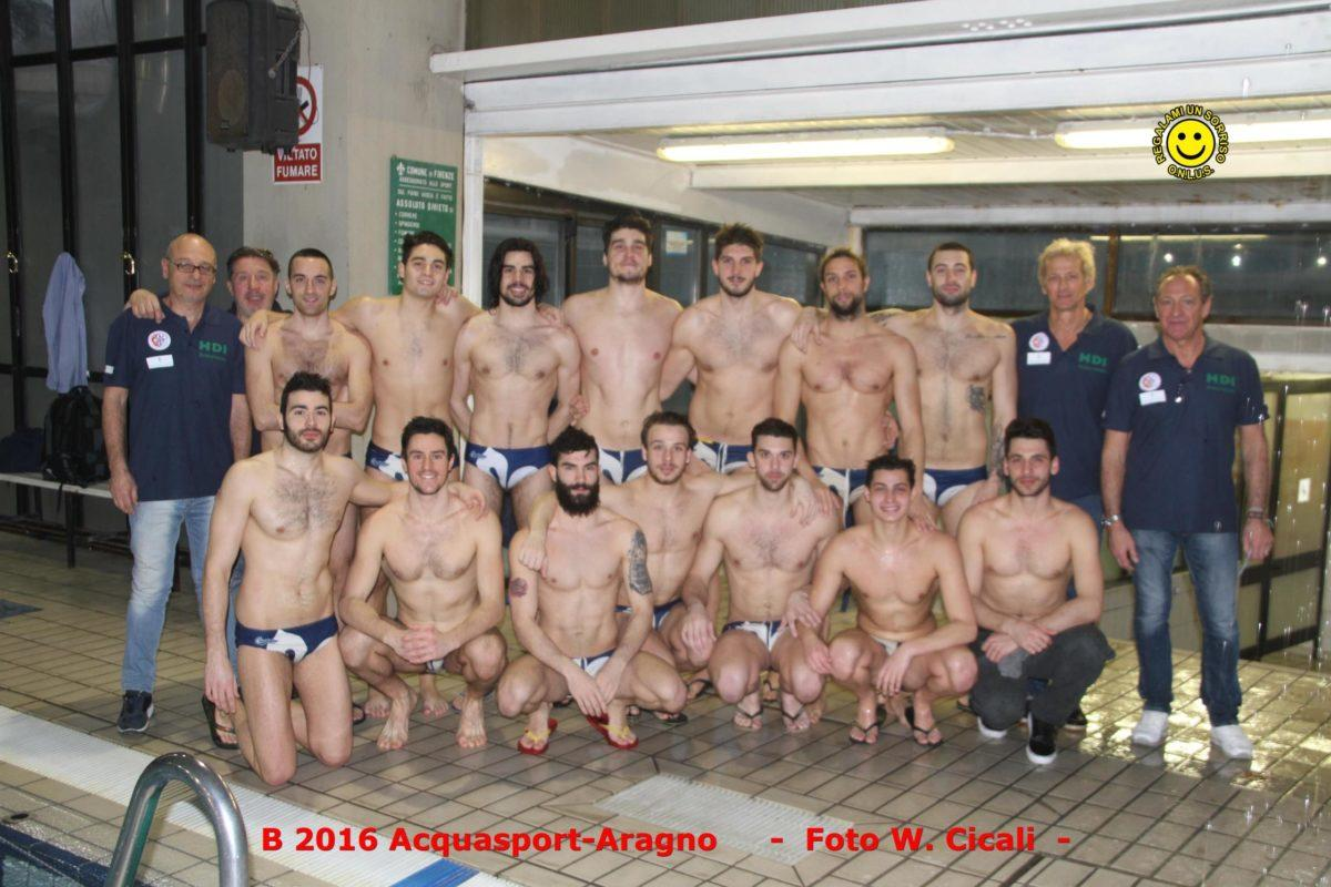 Pallanuoto B/M: Oggi l'Acquasport Firenze ospita la Dinamica Torino
