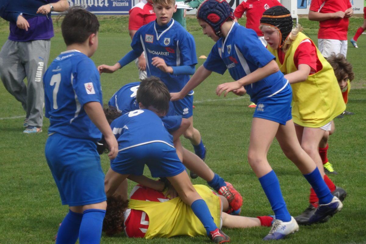 Rugby: Un bel 2° posto per l'Under 12 del Firenze Rugby 1931 a Siena