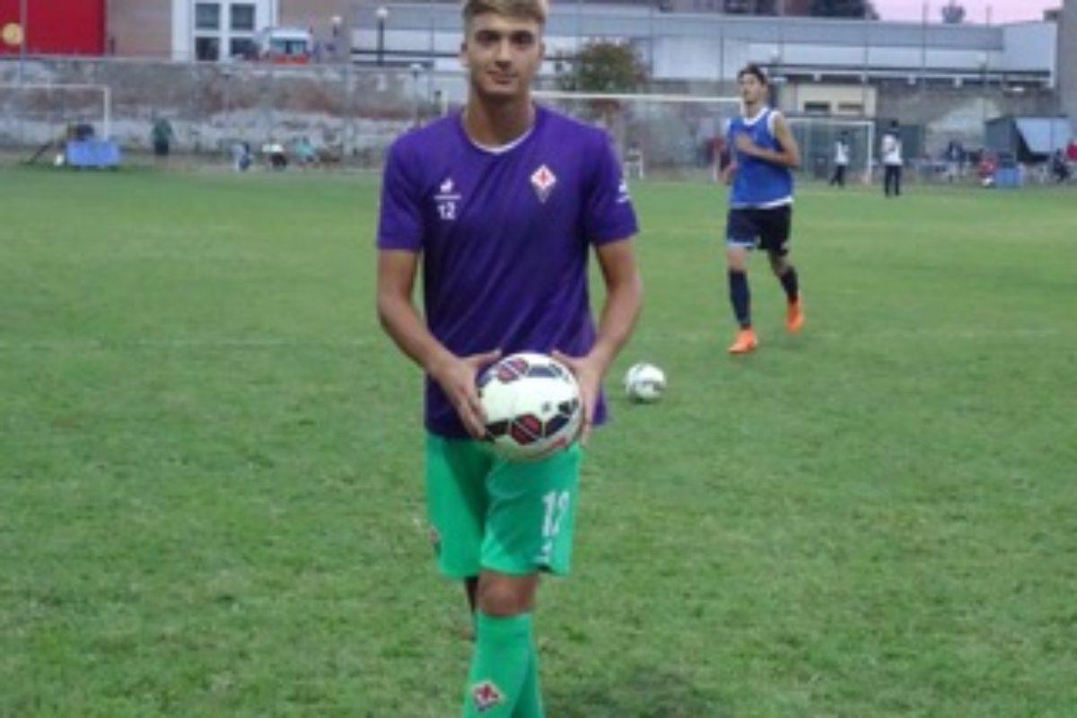 Calcio: Giacomo Satalino firma il 1° contratto con la Fiorentina