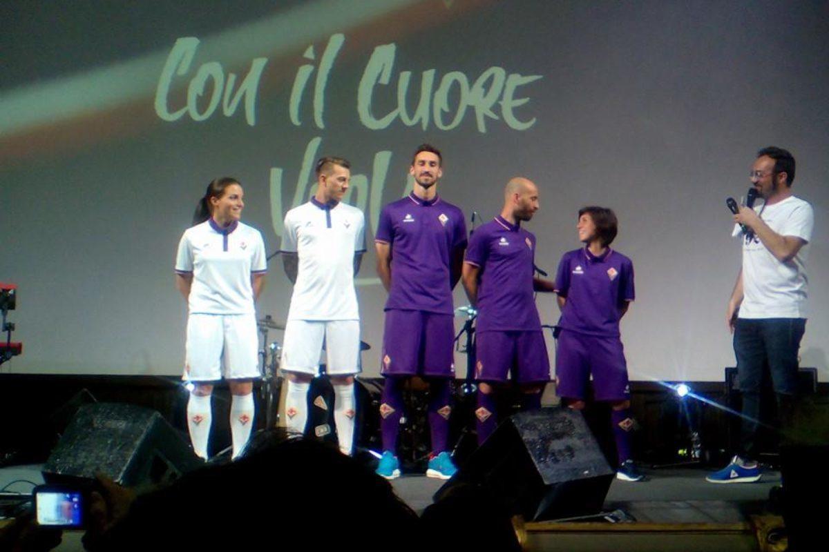 Calcio: Sondaggio sulle nuove maglie viola del prossimo anno…