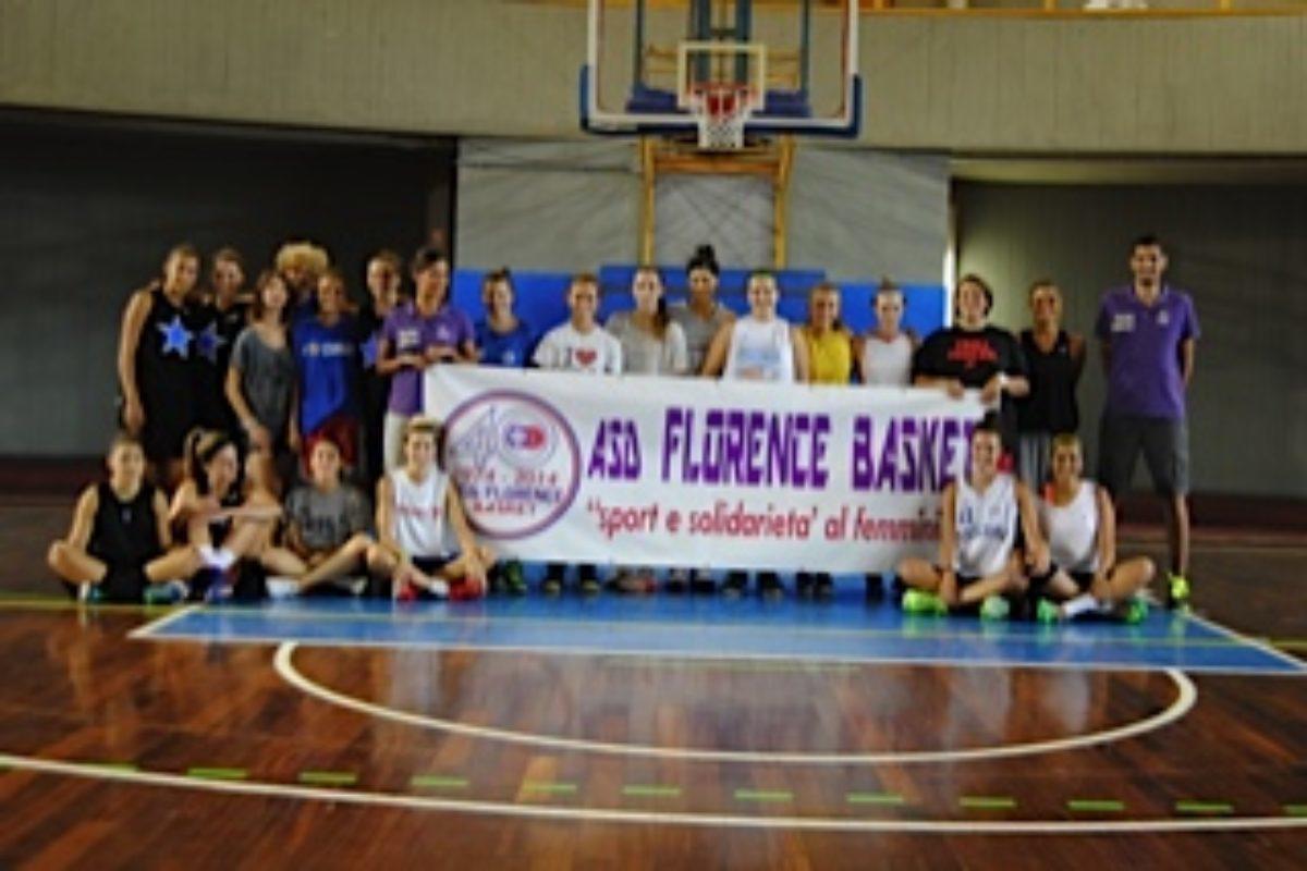 """Basket :Oggi dalle 15 la """"Festa di fine annata Young Girls"""" in casa Florence"""