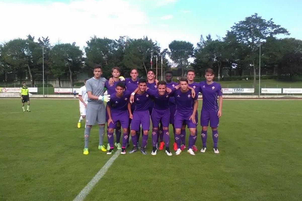 Calcio: Allievi Nazionali: Fiorentina Roma 1-2 la sbloccava Gori, poi Cappa e Antonucci la ribaltano: Viola a casa !!