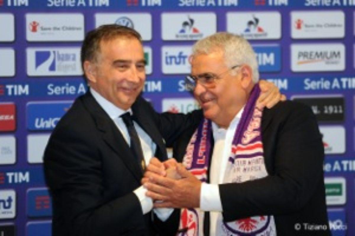 """Calcio: Finalmenteeeeeee: è tornato il """"Mio Amicone"""" Pantaleo Corvino !! Olè !!"""