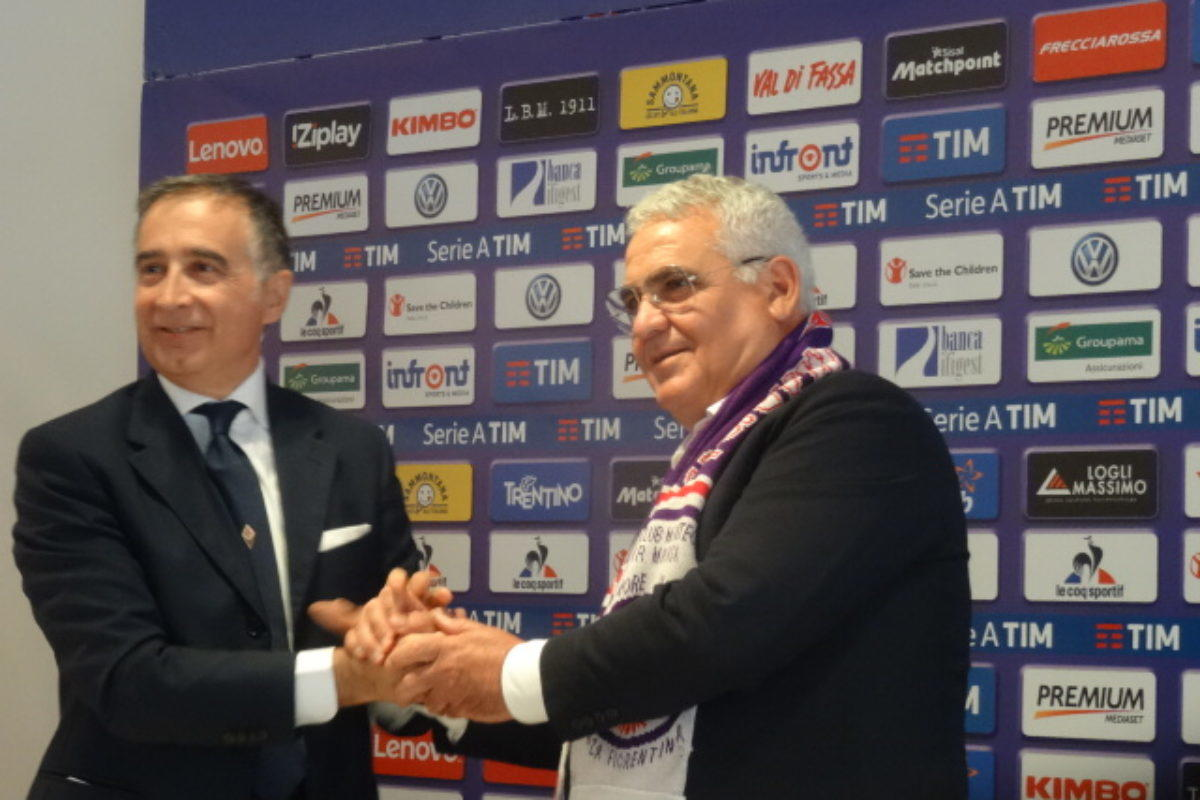 """Calcio: """"Pillola"""" di calcio mercato viola"""