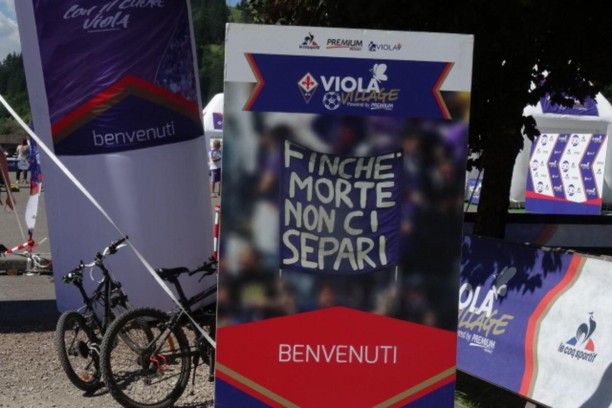 """Calcio: Iniziata la 2° giornata viola a Moena: fa un caldo """"impressionante""""…!!"""
