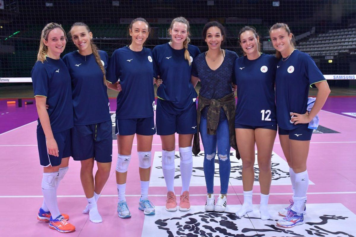 Volley: Il calendario dell'A1/F in casa il Bisonte Firenze