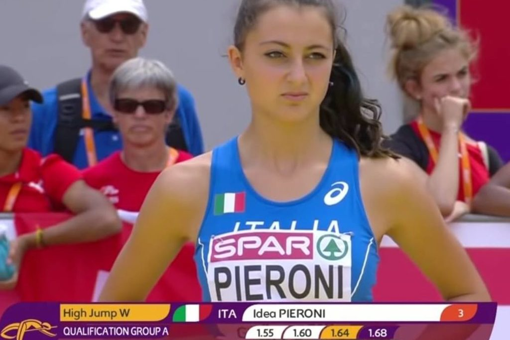 Europei Under 18 di atletica, splende l'Italia mentre la giovanissima Idea Pieroni sfiora il podio