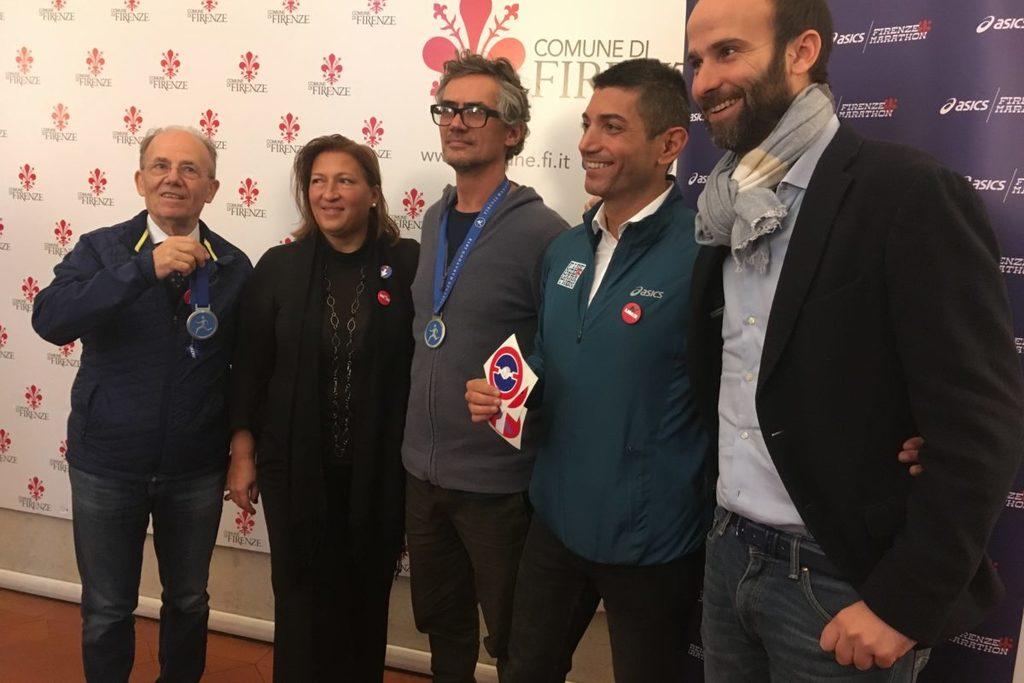 Presentata la medaglia ufficiale della Firenze Marathon 2018