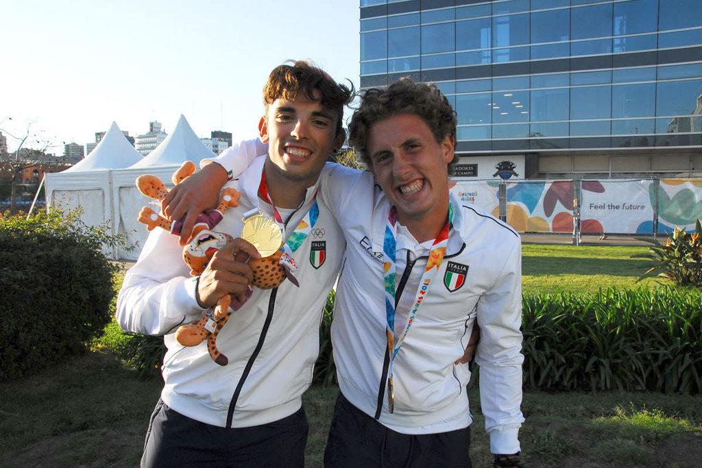 Prima medaglia della storia del canottaggio azzurro ai Giochi Olimpici Giovanili di Buenos Aires
