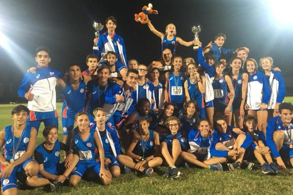 Atletica Firenze Marathon sul trono regionale con entrambe le squadre nella Finale dei societari Under 14