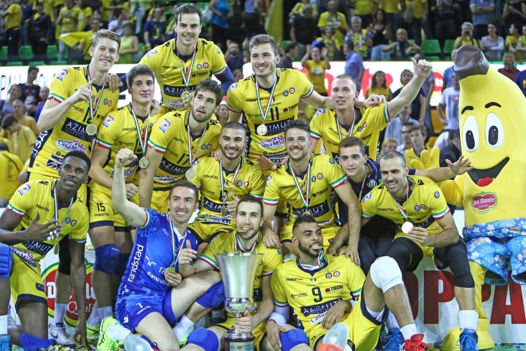 Supercoppa di volley, vince Modena con Velasco e Zaytsev