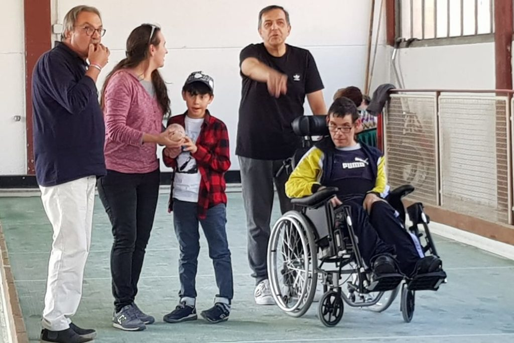 Giornata di bocce per persone disabili a Chianciano Terme