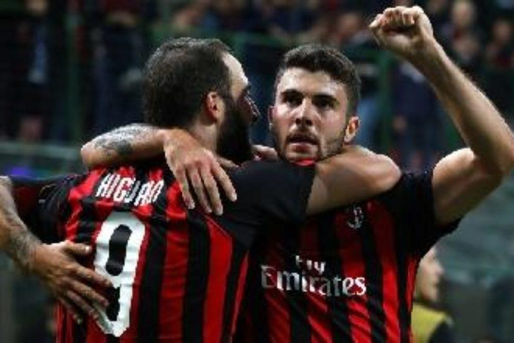 Calcio: Coppe Europee: per adesso è entusiasmante 5/5 italiano..anche il Milan vince 3-1 all'Olimpiakos; adesso in campo la Lazio..