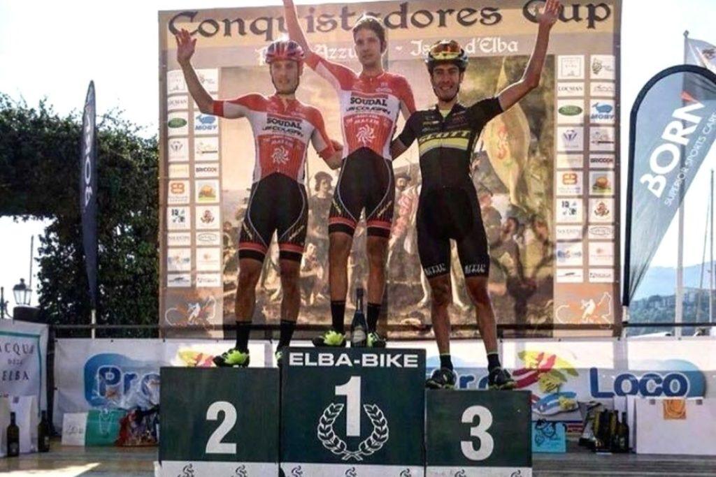Mountain bike, a Porto Azzurro nell'ultima gara dell'anno vincono Mensi e Maria Cristina Nisi