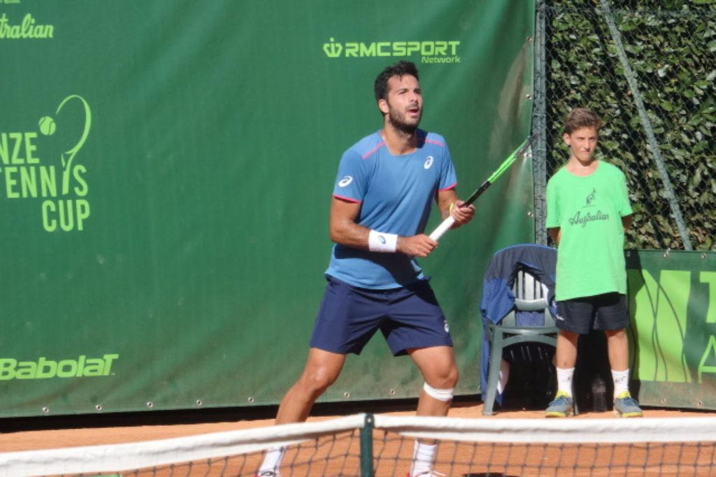Tennis: Al Ct Firenze completato  tutto il  1° turno del tabellone principale 5 italiani già dentro e adesso facendo il tifo  per Pellegrino