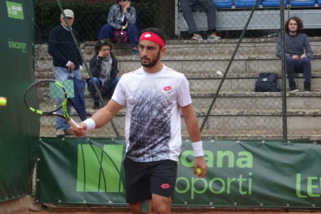 """Tennis: """"Toscana Aeroporti"""" a Firenze: per Giustino è stata durissima: perde con  Andujar """"con gli altissimi onori delle armi"""" è: 4-6 / 7-6 (4) 3-6"""