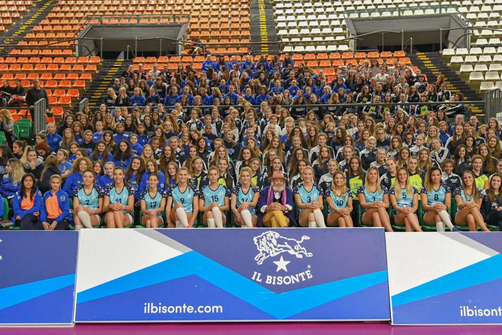 Volley: il Bisonte Firenze si è presentato al Pala Mandela Forum