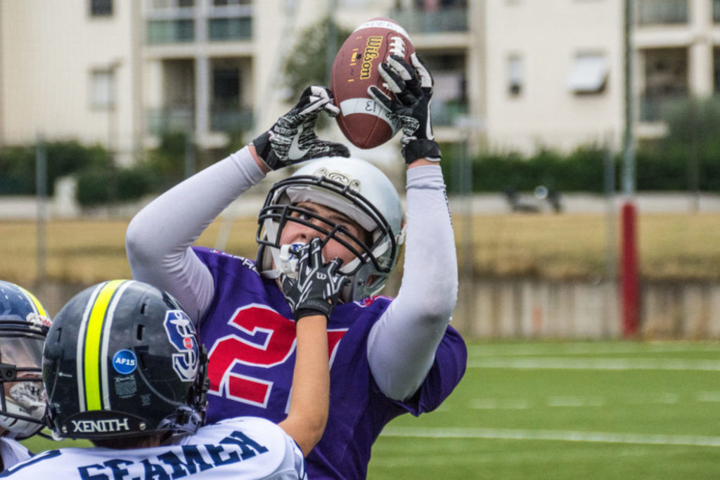 Football Americano: 1° vittoria dell'Under 19 dei Guelfi; perdono le Under 13