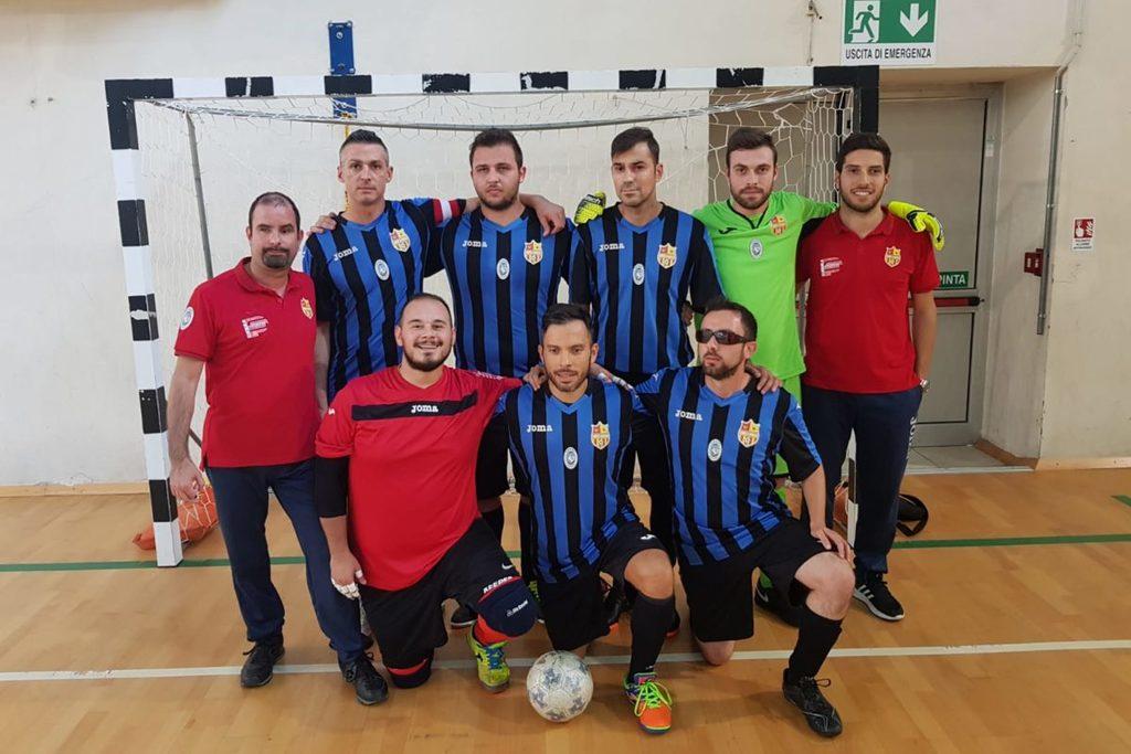 Calcio a 5 ipovedenti, finisce in una goleada l'esordio in campionato del Limite e Capraia