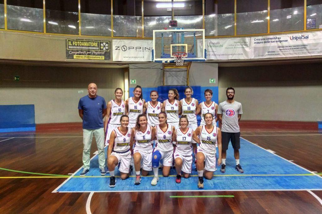 Basket B/F: Fotoamatore Lavagna: finale 39-51 Domani mattina data in replica sul nostro Canale 196 di TeleFirenzeViolaSupersport