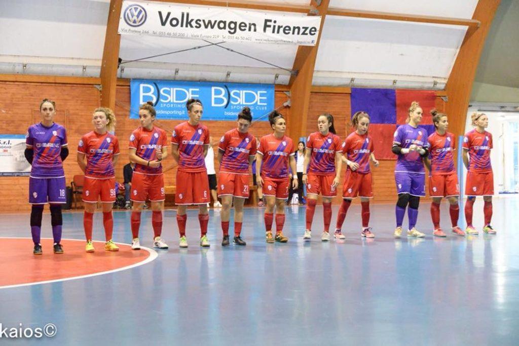 Serie A donne, terzo successo consecutivo per il Futsal Florentia