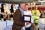 RARI NANTES FLORENTIA- Felicitazioni del Presidente Andrea Pieri al Presidente FIN Paolo Barelli per lo straordinario successo ai Mondiali di Budapest