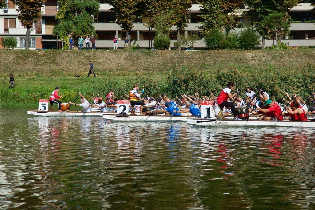 Dragon Boat : a Firenze vincono i Canottieri Comunali