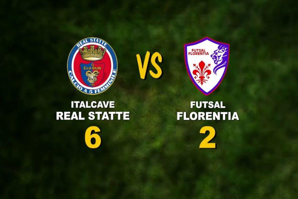 Calcio a 5, Serie A donne: Futsal Florentia, passo falso all'esordio. La videosintesi della gara