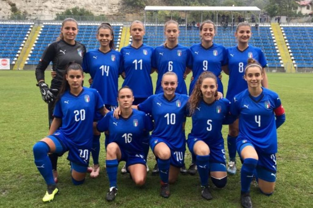 Calcio donne, domani la seconda gara europea dell'Italia Under 19. Ok l'esordio