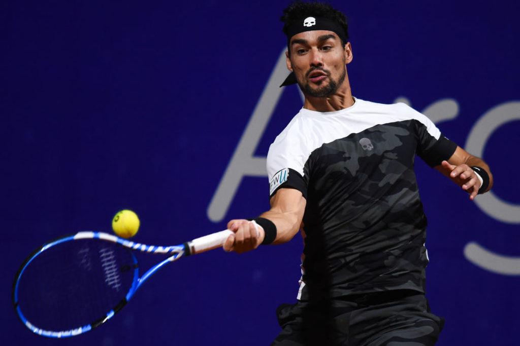 TENNIS-Australian Open: Fognini si arrende a Nadal, Berrettini costretto al ritiro