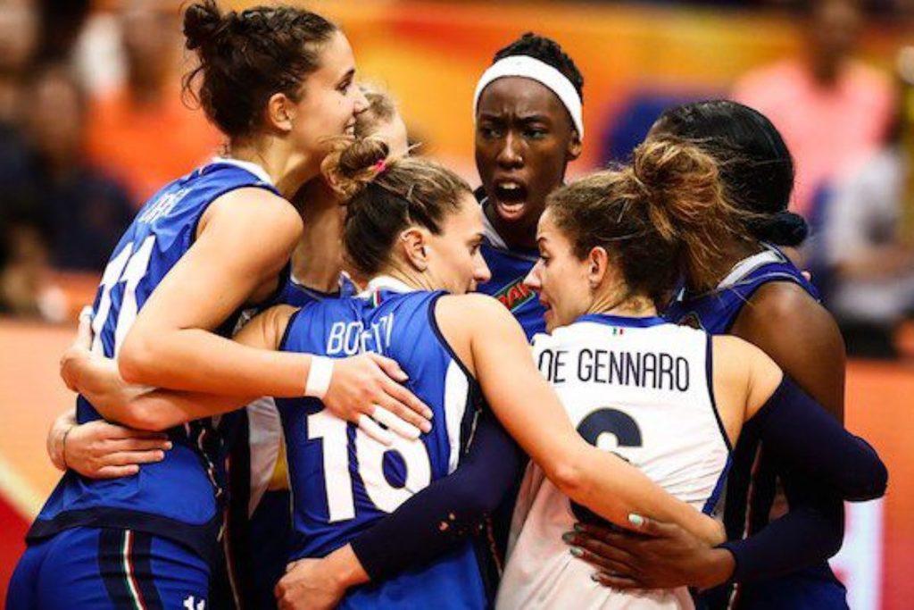 VOLLEY FEMMINILE-  Italia d' argento si arrende al tie break alla Serbia.