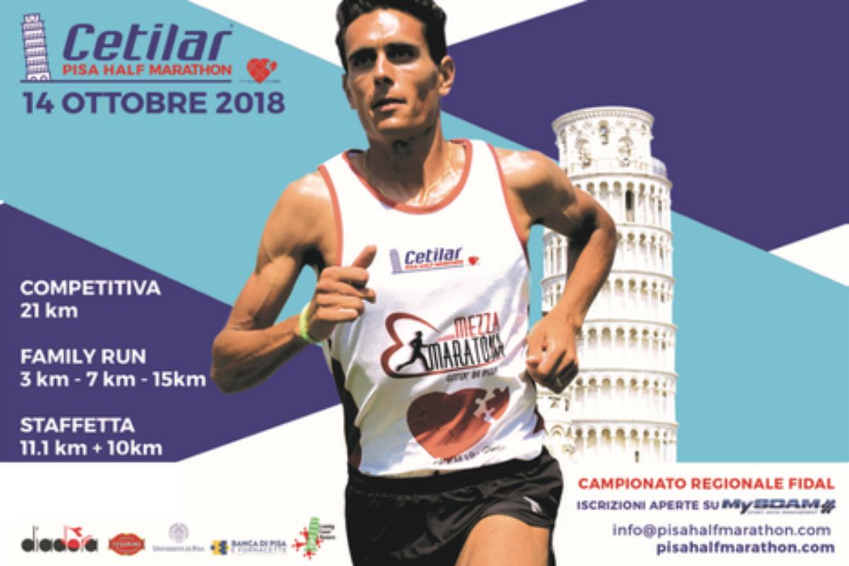 Daniele Meucci secondo alla mezza maratona di Pisa