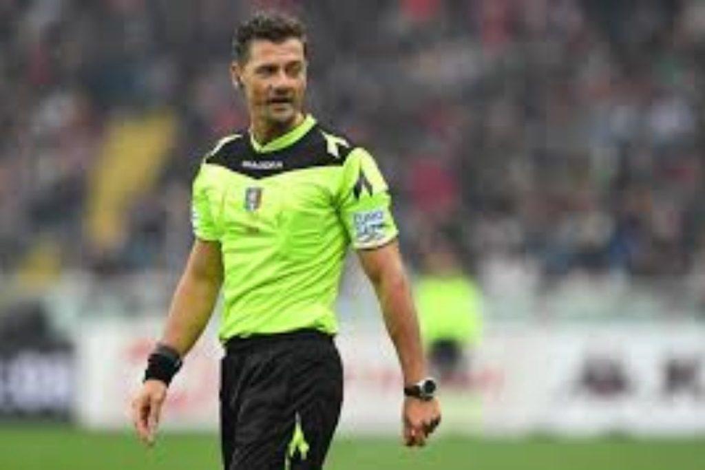 CALCIO- Piero Giacomelli l'arbitro di Fiorentina- Cagliari