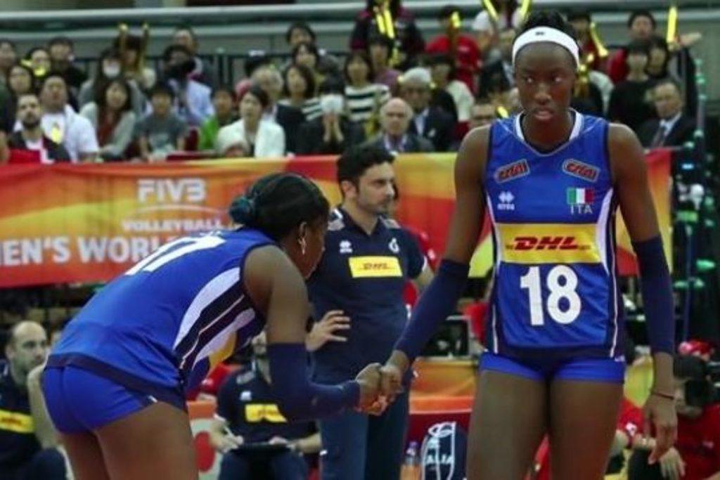 VOLLEY FEMMINILE: Cina-Italia 2-3 (18-25 25-21 16-25 31-29 15-17)
