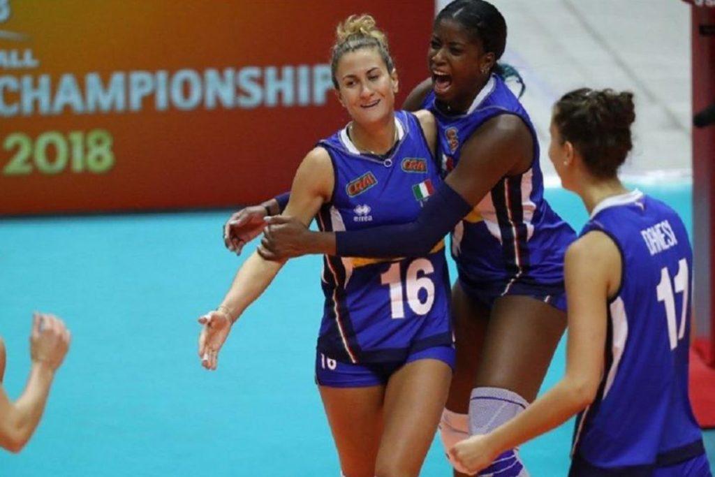 VOLLEY FEMMINILE, ITALIA- GIAPPONE 3-2, Azzurre nella semifinale mondiale.