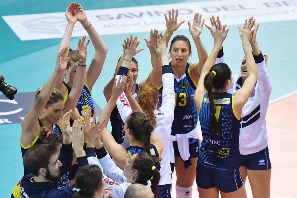 VOLLEY FEMMINILE, Champions League SSC Palmberg Schwerin-Savino Del Bene Scandicci 3-1