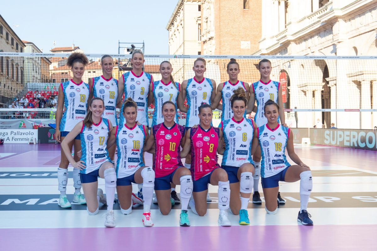 VOLLEY FEMMINILE SUPERCOPPA Savino Del Bene Scandicci- Imoco Volley Conegliano 0-3 (17-25; 14-25; 22-25)