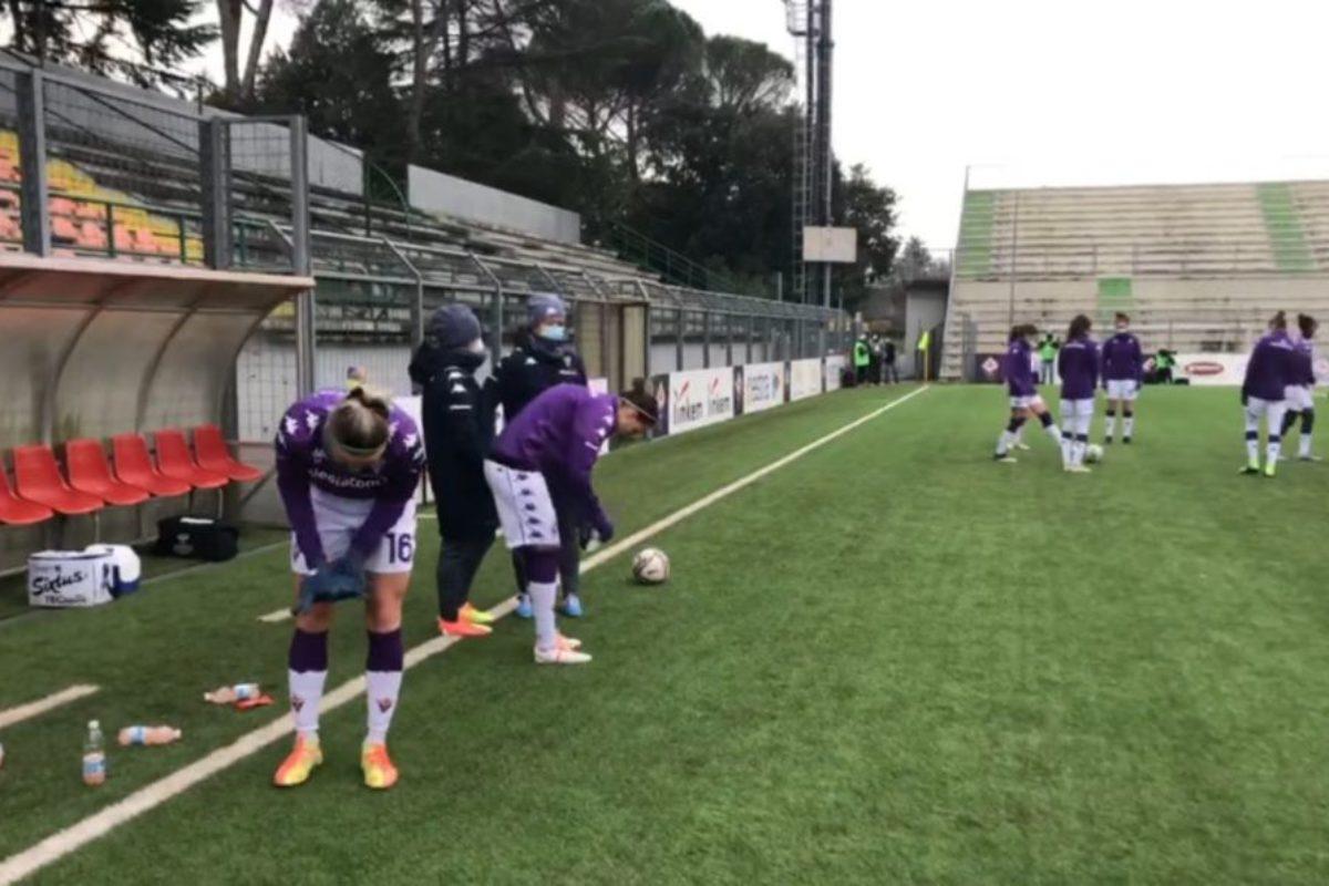 La Fiorentina femminile batte 3-1 il San Marino e aggancia l'Empoli al 4° posto
