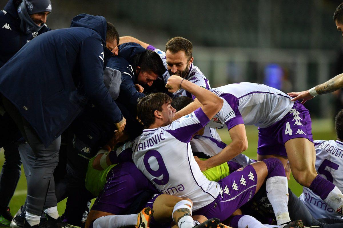 Calcio: L'inizio del 20° turno ( 1° di ritorno):amara 1-1 viola a Torino raggiunti all'88° !!