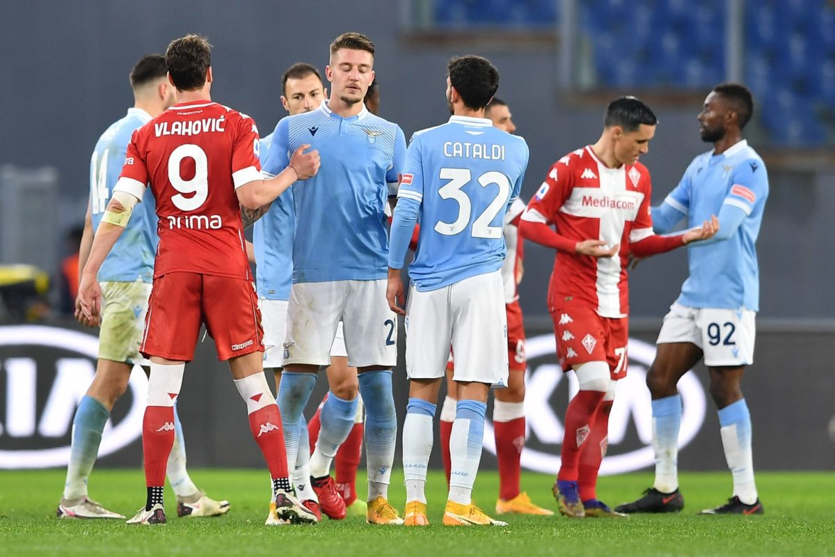 Le foto di Lazio-Fiorentina (2-1)