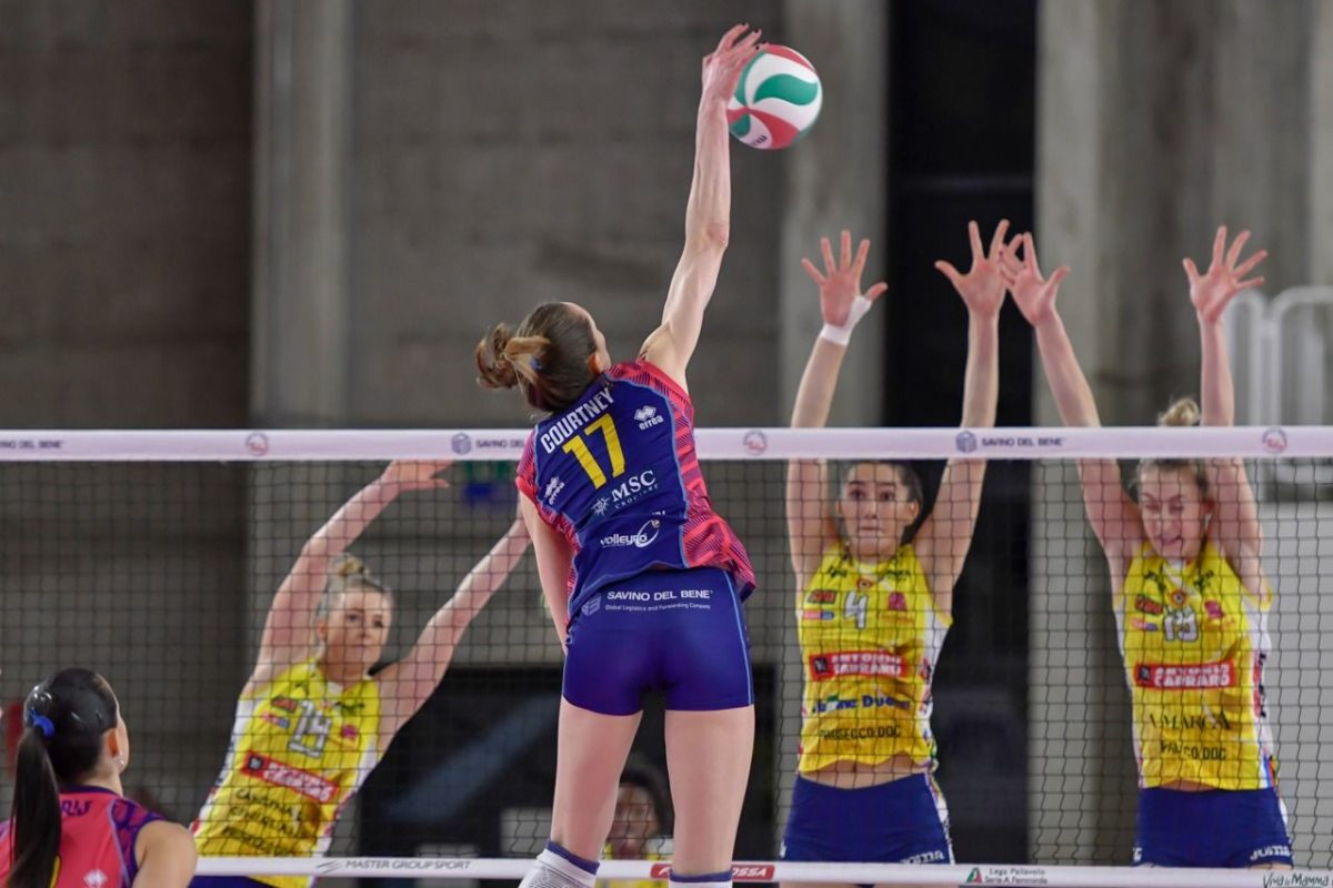 Volley: A1/F il programma del week end