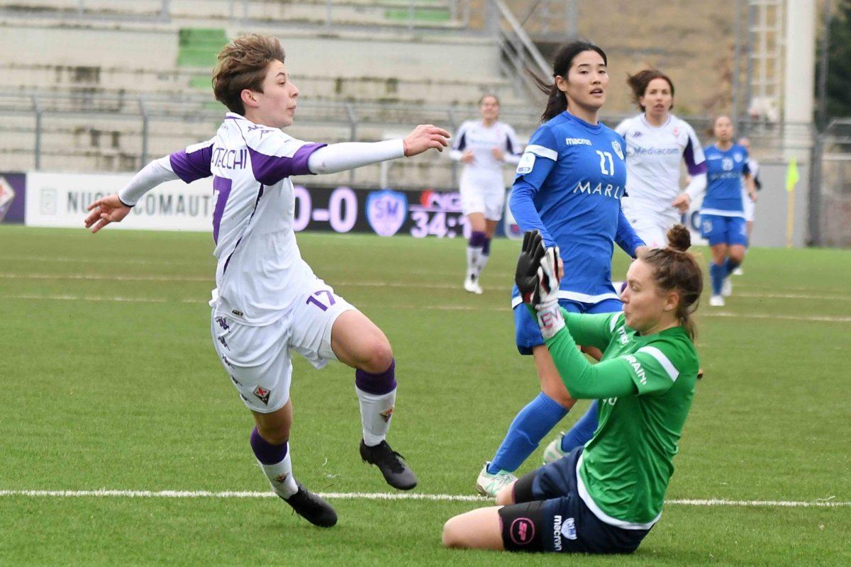 Fiorentina femminile: quarta al giro di boa. Peggior punteggio dopo le prime 11 giornate